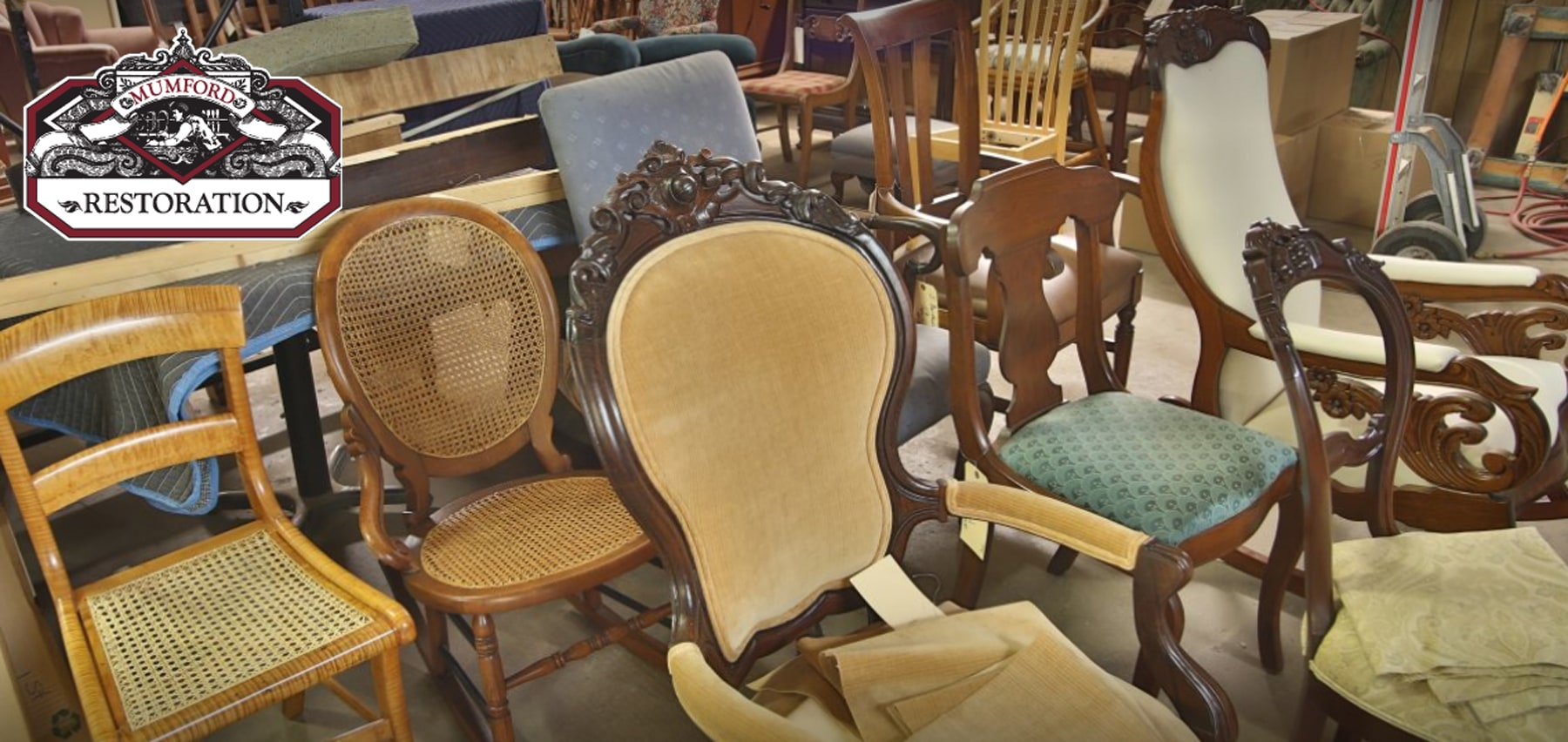 Contact Mumford Restoration today for expert chair restoration services.