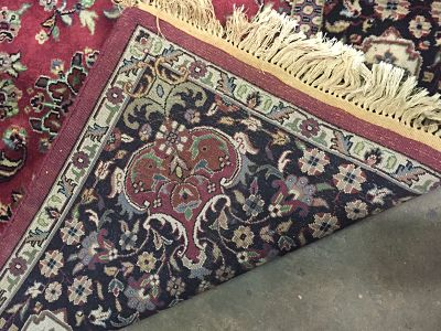 Rug Repair | North Carolina | Mumford Restoration