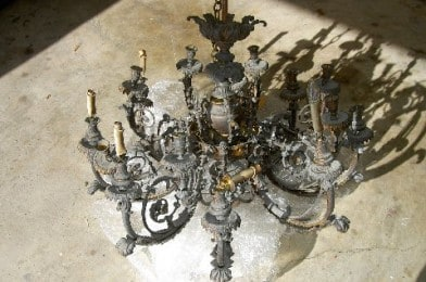 Antique Chandelier Restoration