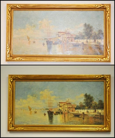 Increase you art's intrinsic value with restoration from Mumford.